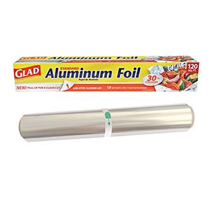 Aluminum foil roll sizes