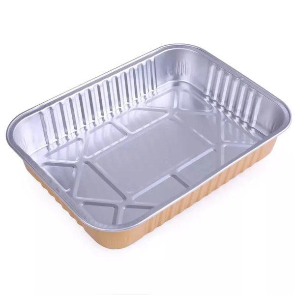 Aluminium foil baking pans